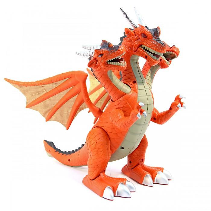 Интерактивные игрушки Veld CO Динозавр Трехголовый интерактивные игрушки veld co динозавр на радиоуправлении