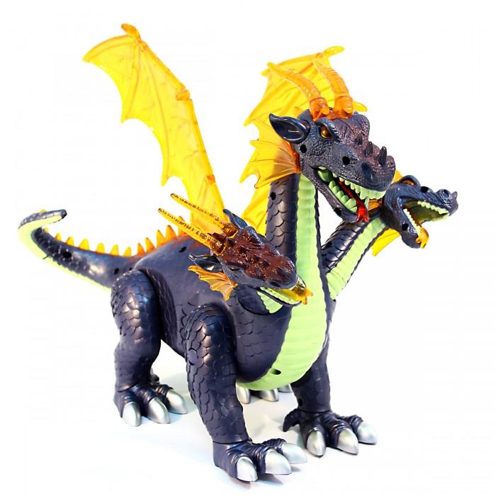 Интерактивные игрушки Veld CO Динозавр трехголовый с крыльями интерактивные игрушки veld co динозавр на радиоуправлении