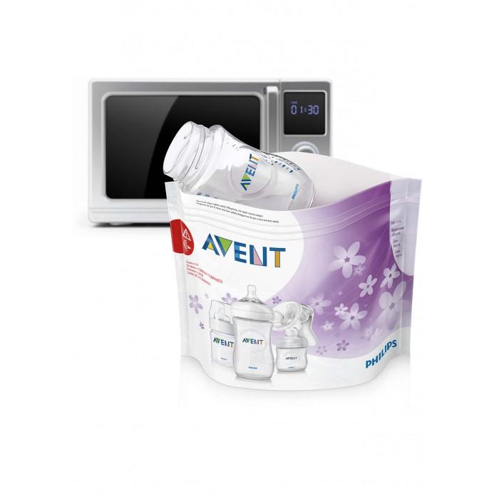 Купить Подогреватели и стерилизаторы, Philips Avent Пакеты для стерилизации в микроволновой печи, 5 шт. SCF297/05