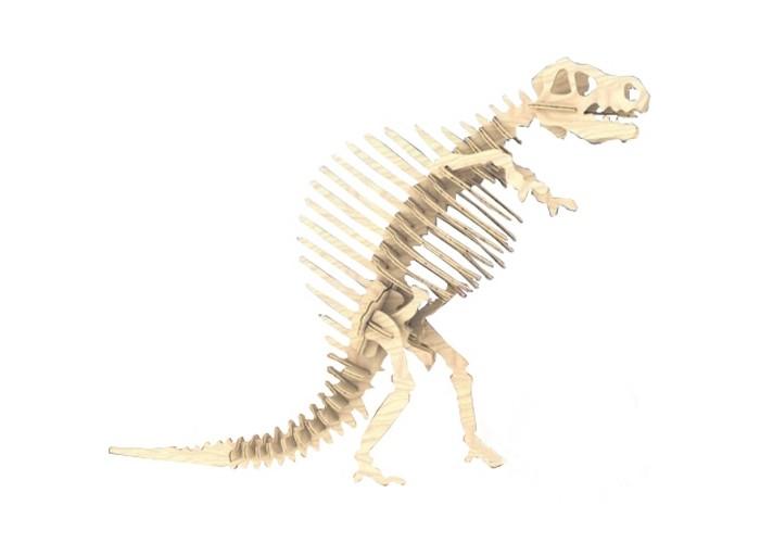 Конструкторы Мир деревянных игрушек (МДИ) Спинозавр 37 элементов конструкторы eastcolight сборная модель science time скелет трицератопса 14 элементов