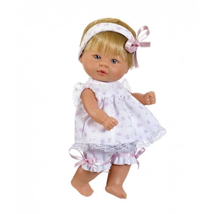 ASI Кукла-пупсик 20 см 2113022Кукла-пупсик 20 см 2113022ASI Кукла-пупсик 20 см 2113022 У пупса короткие светлые волосы с бантиком. Одета в красивый  розовый костюмчик. Упакована в красивую подарочную коробку.Выполнен пупсик из винила очень высокого качества.Пупсика можно купать. За счет того, что рост этой крохи 20 см., ее удобно везде брать с собой!Голубые глазки пупса подчеркивает ее одежка, в пастельных тонах, а милая повязка на голову, придает еще больше очарования этой крохе!  Испанцы берегут свои традиции и гордятся высоким качеством и оригинальностью своей продукции.   Особенности:  кукла ASI сделана очень качественно.  Без запаха.   Используется безопасный твердый винил.  Видна прорисовка мельчайших подробностей тела, рук и ног.<br>