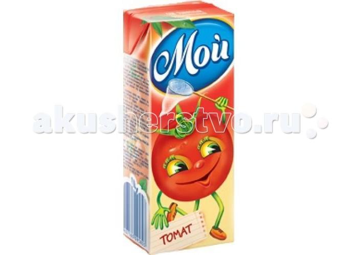 Соки и напитки Сады Придонья Мой Сок томатный с солью с 3 лет 200 мл сок томатный каждый день 2л