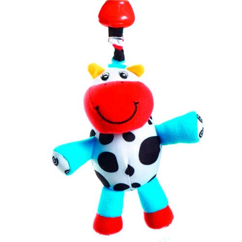Подвесные игрушки Tiny Love погремушка теленок Кузя 427 игрушки подвески tiny love подвеска погремушка теленок кузя