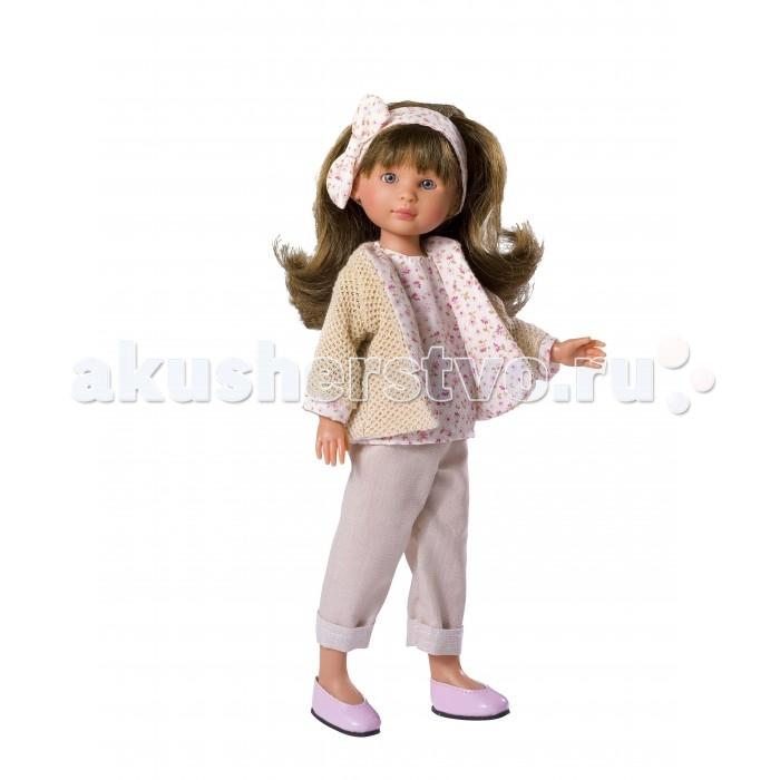 ASI Кукла Селия 30 см 163320Кукла Селия 30 см 163320ASI Кукла Селия 30 см 163320 - станет отличным подарком для любой девочки!  У куклы очень красивое миловидное личико, роскошные темные волосы, аккуратно уложенные в крупные локоны. Ее можно купать и делать всевозможные прически.Ее компактный размер позволяет брать ее везде с собой.Одета в вязаный пиджачёк и в брючки капри ,упакована в красивую подарочною коробку.  Компания ASI огромное внимание уделяет каждой детали в образе кукол. Вот почему одежда всегда выполнена из качественных дорогих материалов.  Особенности:  кукла ASI сделана очень качественно.  Без запаха.   Используется безопасный твердый винил.  Видна прорисовка мельчайших подробностей тела, рук и ног.<br>