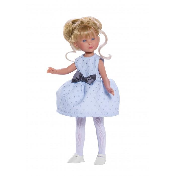 ASI Кукла Селия 30 см 163330Кукла Селия 30 см 163330ASI Кукла Селия 30 см 163330 - отличный выбор к празднику!  Волосы у Селии длинные, прошитые, собранные. Два очаровательных локона обрамляют лицо. У куколки очень красивое личико: нежно-розовые губки и голубые глаза.Одета в голубое платье с бантиком.Упакована в красивую подарочную коробку.  Выполнена из качественного винила, приятного на ощупь и очень натуралистичного по цвету.  Особенности:  кукла ASI сделана очень качественно.  Без запаха.   Используется безопасный твердый винил.  Видна прорисовка мельчайших подробностей тела, рук и ног.<br>