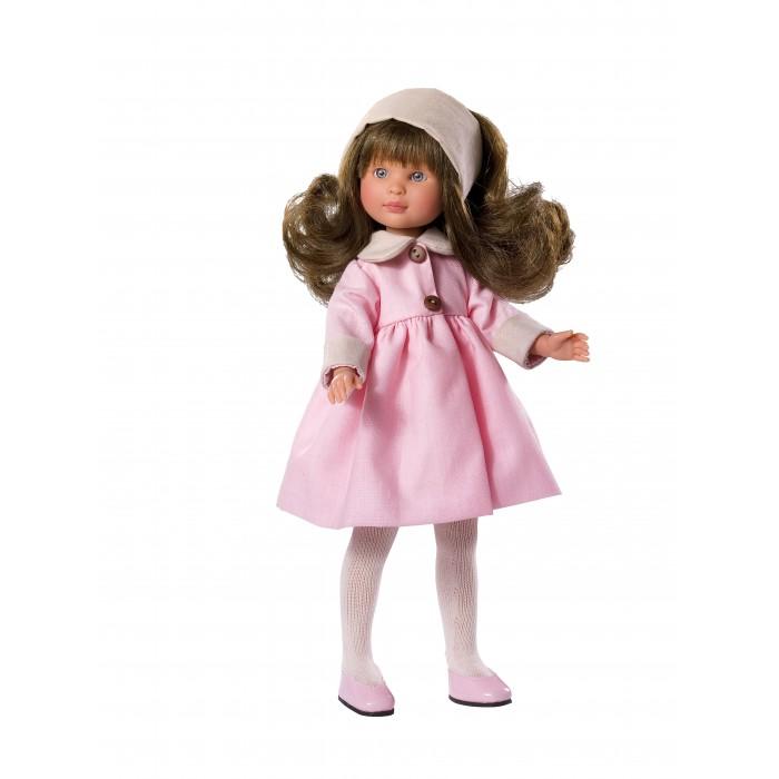 ASI Кукла Селия 30 см 163350Кукла Селия 30 см 163350ASI Кукла Селия 30 см 163350 - эта куколка - брюнетка, в нарядном нежно-розовом комплекте одежды, идеально подойдет для игры Вашего ребенка!  Ее очень удобно брать с собой. У Селии очень красивое миловидное личико, длинные светлые волосы. Полностью выполнена из винила самого высокого качества. Ее можно купать и делать всевозможные прически.  Кукольный Дом ASI занимается производством кукол с 1942 года, поэтому качество кукол этого испанского производителя находится на высочайшем уровне.  Особенности:  кукла ASI сделана очень качественно.  Без запаха.   Используется безопасный твердый винил.  Видна прорисовка мельчайших подробностей тела, рук и ног.<br>