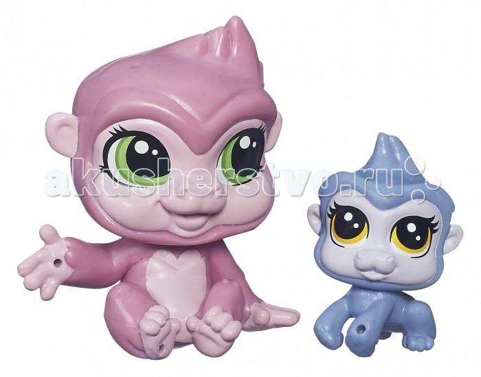 Игровые наборы Littlest Pet Shop Saffron Sweetin и ее малышка Zanna Sweeti игровые наборы littlest pet shop стильный зоомагазин