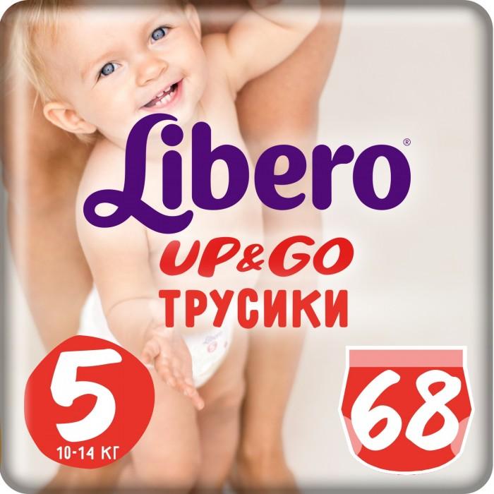 Подгузники-трусики Libero Подгузники-трусики Up&Go Giga Pack (10-14 кг) 68 шт. матрас toris giga 16 торис гига 16 70x160