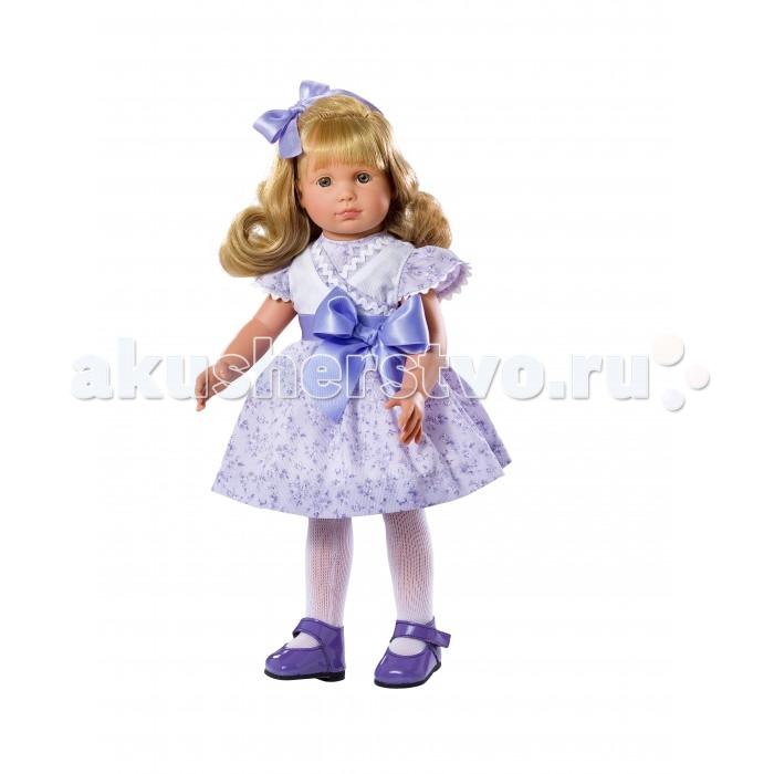 ASI Кукла Нелли 43 см 253370Кукла Нелли 43 см 253370ASI Кукла Нелли 43 см 253370 - мечта любой девочки!  Кукла полностью сделана из винила. Она устойчиво стоит на ровных ногах.Волосы светлые,длинные, прошитые, приближены по качеству к натуральным. Их можно расчесывать, не боясь выпадения.Ресницы у куклы, тоже, как настоящие, динные и пушистые. Очень выразительный взгляд, легкий румянец на лице.Одета она в сиреневое платье с атласным бантом. Упакована в красивую подарочную коробку.  Особенности:  кукла ASI сделана очень качественно.  Без запаха.   Используется безопасный твердый винил.  Видна прорисовка мельчайших подробностей тела, рук и ног.<br>