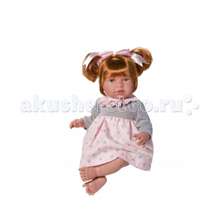 ASI Кукла Нора 50 см 353430Кукла Нора 50 см 353430ASI Кукла Нора 50 см 353430  несмотря на свой большой размер,  очень легкая, и держать на руках ее одно удовольствие.  У Норы очень выразительное личико: блестящие глаза с пушистыми ресничками, пухленькие губки, аккуратный носик, круглые щечки. Личико обрамляют темные волосы, собранные в два хвостика с атласными розовыми бантами.Кукла Нора выполнена очень натуралистично и похожа на маленькую девочку: у нее детально проработаны пальчики, ладошки, ступни, складочки. Ножки и ручки двигаются, куколку можно как посадить, так и выпрямить.  Тело у куклы мягконабивное, а голова, руки и ноги выполнены из высококачественно винила, очень приятного на ощупь и без запаха.Одета кукла Нора в нежно-розовое клетчатое платьице.  Особенности:  кукла ASI сделана очень качественно.  Без запаха.   Используется безопасный твердый винил.  Видна прорисовка мельчайших подробностей тела, рук и ног.<br>
