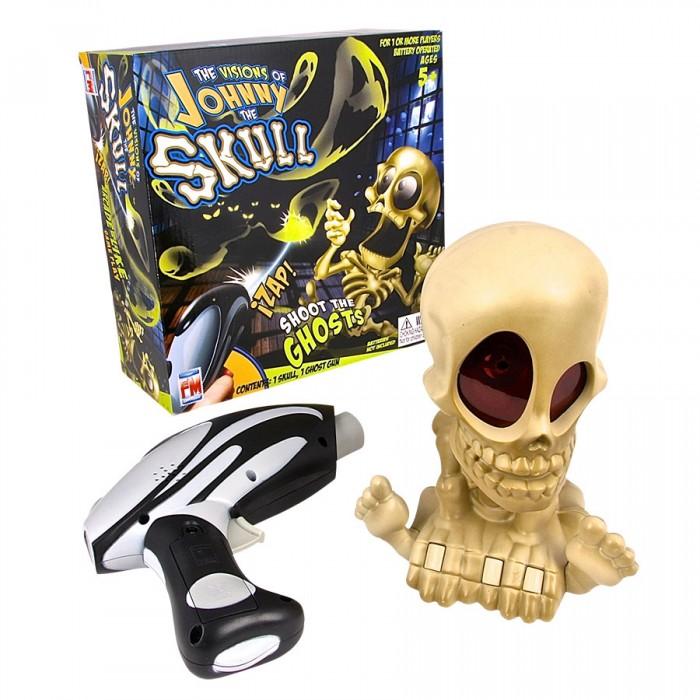 Купить Интерактивные игрушки, Интерактивная игрушка Johnny the Skull Тир проекционный с 1 бластером