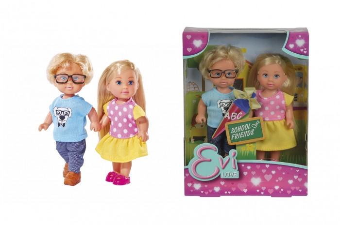 Куклы и одежда для кукол Simba Кукла Еви + Тимми куклы и одежда для кукол simba кукла еви с малышом на прогулке