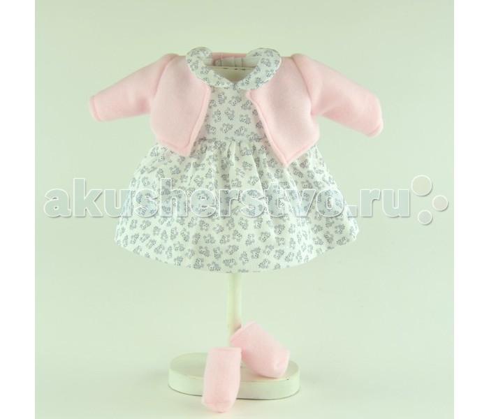 ASI Одежда для кукол 36 см 0000086Одежда для кукол 36 см 0000086ASI Одежда для кукол 36 см 0000086  Платье в цветочек с розовой кофточкой из флиса и насочками на куклу 36 см.Кукла вашей маленькой модницы в таком платье будет выглядеть потрясающе.Каждая девочка мечтает иметь красивых кукол, а также много-много разных аксессуаров к ним.ASI позаботилась о том, чтобы сбылись мечты каждой малышки. Прекрасный аксессуар для куклы отлично дополнит сюжетно-ролевую игру и сделает куклу еще моднее и красивие, что несомненно подарит каждой девочке море положительных эмоций.Игры в переодевания помогут вашему ребёнку развить свою фантазию, научит проявлять заботу и ответственность. Процесс одевания развивает мелкую моторику.<br>