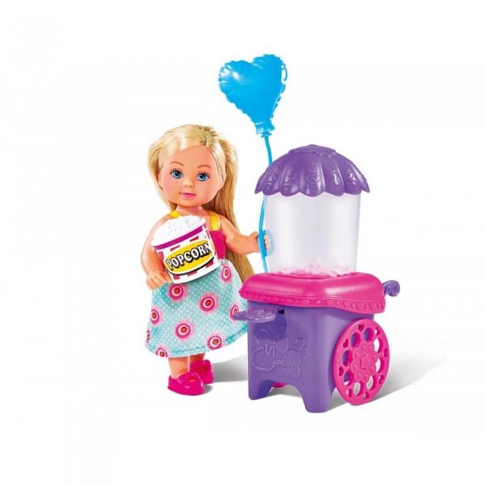 Куклы и одежда для кукол Simba Кукла Еви делает попкорн 12 см