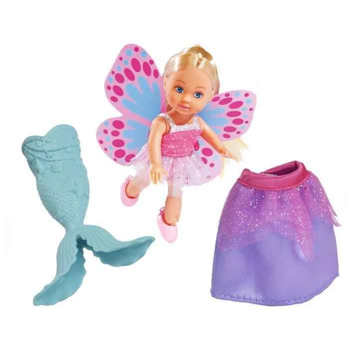 Куклы и одежда для кукол Simba Кукла Еви русалка 3 в 1 12 см simba набор погремушек цвет красный зеленый 3 шт