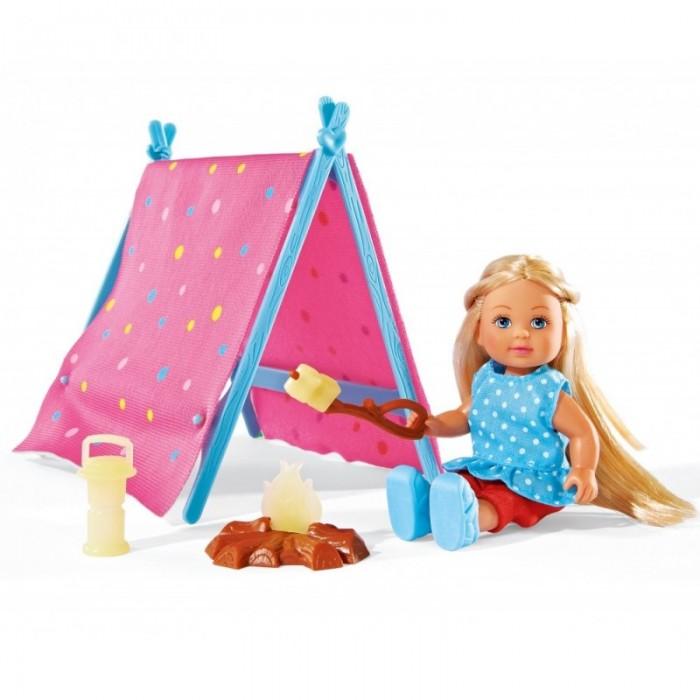 Куклы и одежда для кукол Simba Набор Кукла Еви-кемпинг 12 см куклы и одежда для кукол simba кукла еви со стильной собачкой 12 cм