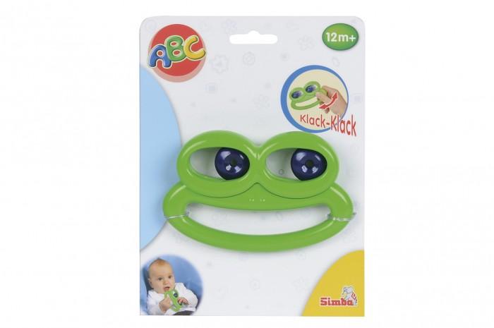 Погремушки Simba Лягушка с подвижными глазами 12 см погремушки simba подвеска
