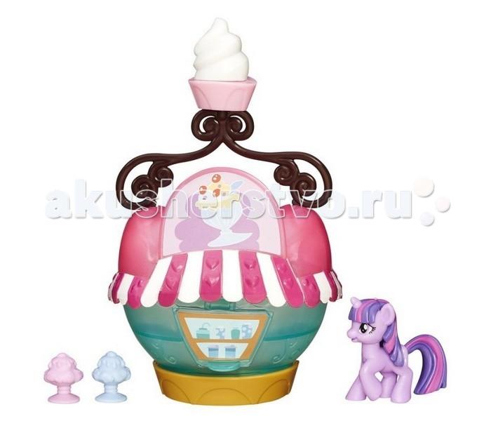 Игровые наборы Май Литл Пони (My Little Pony) Кафе-мороженое Твайлайт Спарк пер гюнт