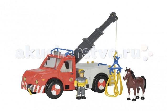 Simba Игровой набор Пожарный Сэм Машина ФениксИгровой набор Пожарный Сэм Машина ФениксSimba Игровой набор Пожарный Сэм Машина Феникс с фигуркой и лошадью.  Игровой набор Пожарный Сэм - Машина Феникс, от бренда Simba, включает в себя автомобиль, фигурку пожарного, лошадь и аксессуары.   Наверное, каждый малыш видел одноименный мультипликационный фильм про храброго Сэма. Тем интереснее ему будет заниматься с данным набором. Детали набора выполнены из пластика высокого качества. Все игрушки представлены в яркой цветовой гамме.  Длина машинки: 23 см.<br>