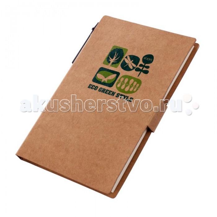 Канцелярия Lejoys Блокнот Tree для заметок с ручкой и закладками (50 листов) lejoys