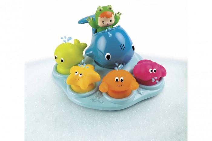 Игрушки для ванны Smoby Cotoons Игрушка для ванной Островок морских обитателей smoby игрушка блендер tefal smoby