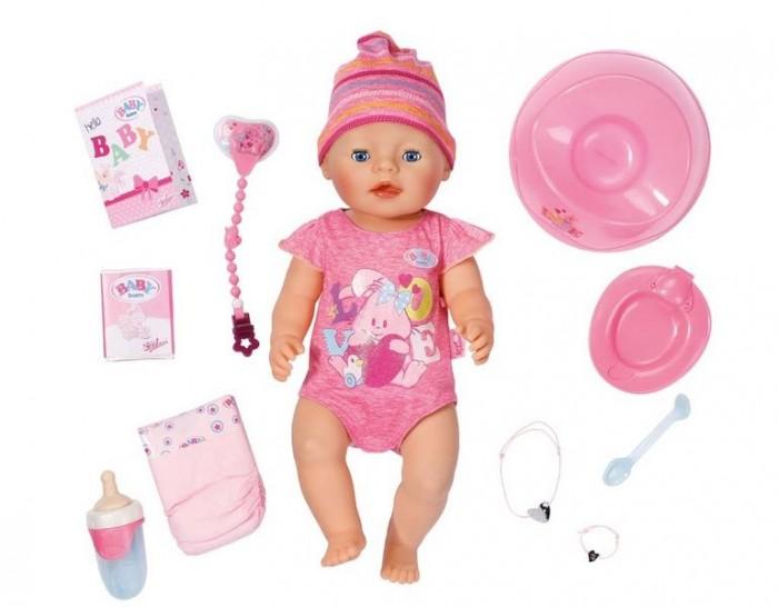 Куклы и одежда для кукол Zapf Creation Игрушка Baby born Кукла Интерактивная 43 см кукла baby born