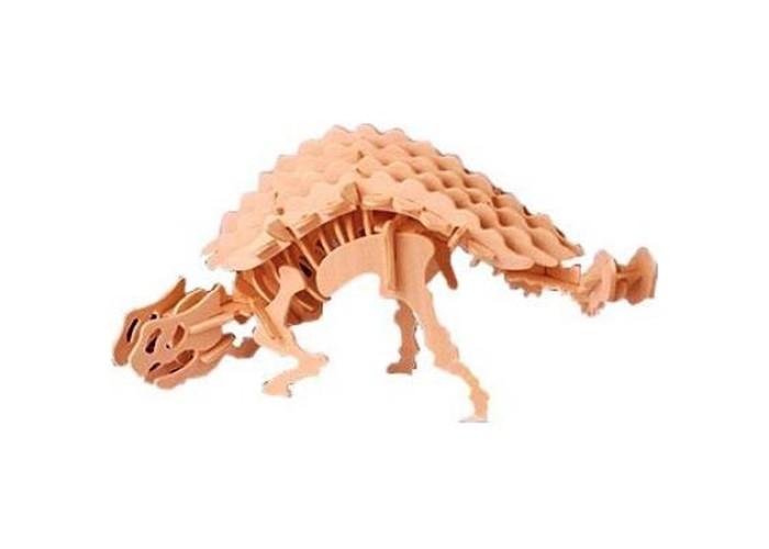 Конструкторы Мир деревянных игрушек (МДИ) Анкилозавр конструкторы мир деревянных игрушек мди сборная модель бабочка