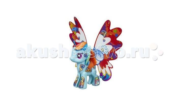 Игровые наборы Май Литл Пони (My Little Pony) Рэйнбоу Дэш с крыльями игровые наборы май литл пони my little pony pop флаттершай