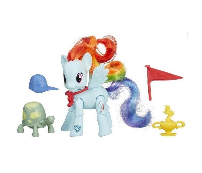 Игровые наборы Май Литл Пони (My Little Pony) Радуга Дэш с артикуляцией  my little pony b3602 май литл пони игровой набор с артикуляцией в ассортименте