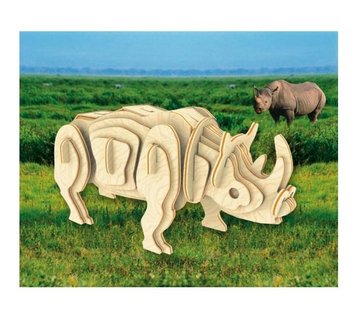 Конструкторы Мир деревянных игрушек (МДИ) Белый носорог конструкторы eastcolight сборная модель science time скелет трицератопса 14 элементов