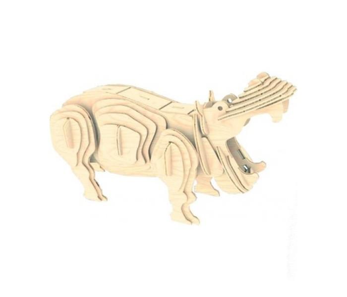 Конструкторы Мир деревянных игрушек (МДИ) Бегемот конструкторы мир деревянных игрушек мди мышь