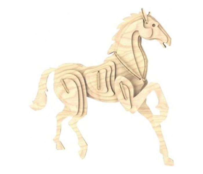 Конструкторы Мир деревянных игрушек (МДИ) Лошадь серия М готовую баню без сборки