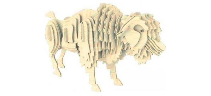 Конструкторы Мир деревянных игрушек (МДИ) Бизон 55 элементов конструкторы мир деревянных игрушек мди бмв изетта