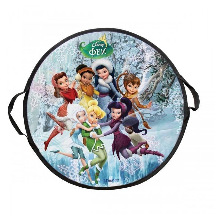 Ледянки Disney Фея 52 см круглая ледянка disney фея до 60 кг пвх ткань рисунок т58165