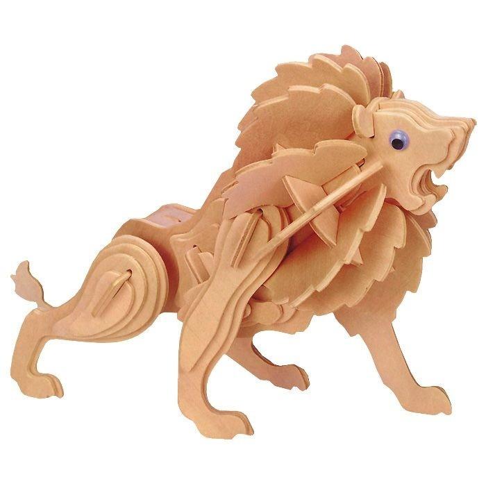 Конструкторы Мир деревянных игрушек (МДИ) Маленький лев деревянные игрушки мир деревянных игрушек мди лабиринт лев
