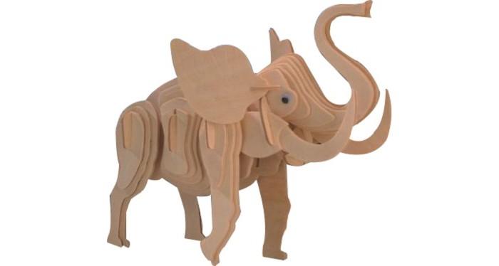 Конструкторы Мир деревянных игрушек (МДИ) Маленький слон 53 элемента игрушка мир деревянных игрушек лабиринт слон д345