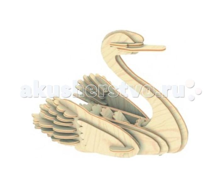 Конструкторы Мир деревянных игрушек (МДИ) Лебедь серия М готовую баню без сборки