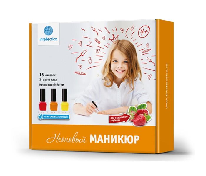блестки для ногтей no 50g shapefor pdds 008 Детская косметика Intellectico Малый набор Неоновый маникюр
