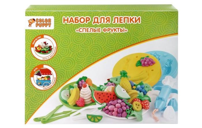 Color Puppy Набор для лепки Спелые фрукты 631026
