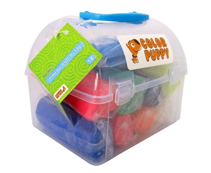 Всё для лепки Color Puppy Тесто для лепки 635154 набор для лепки color puppy тесто для лепки 20 цветов 560г 63781
