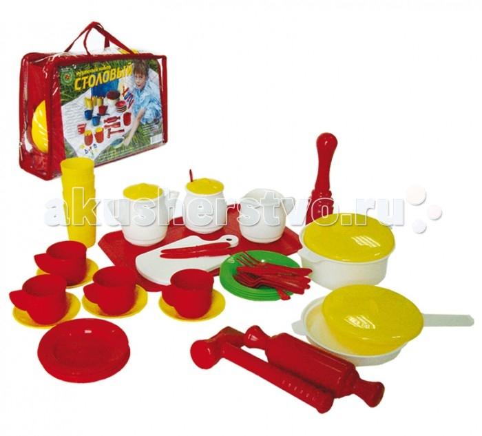 Ролевые игры Совтехстром Кухонный набор Столовый (52 предмета)