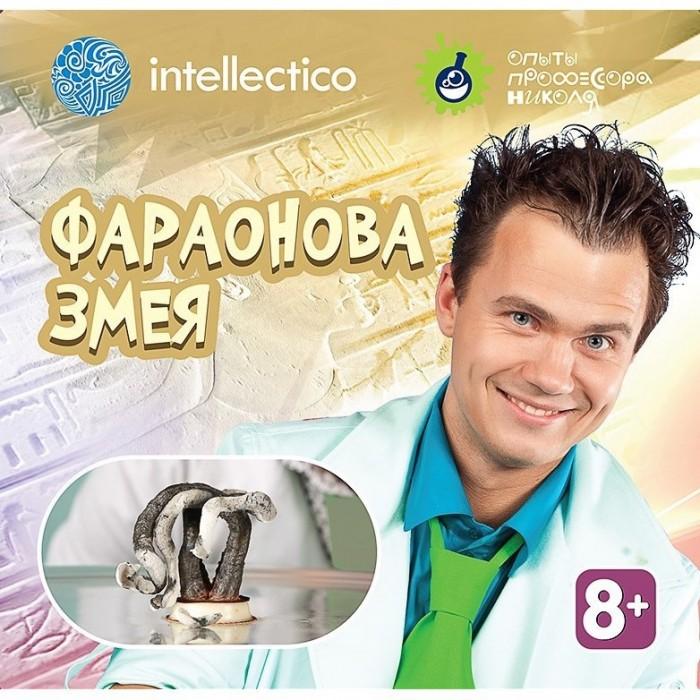 Наборы для творчества Intellectico Набор для опытов с профессором Николя Фараонова змея наборы для творчества eastcolight набор для исследований эксперименты с магнитами 12 опытов