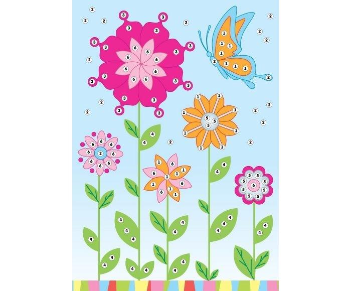 Мозаика Color Puppy Набор для творчества Аппликация Летний день 635162 набор для творчества тм vladi раскраски глиттером сова