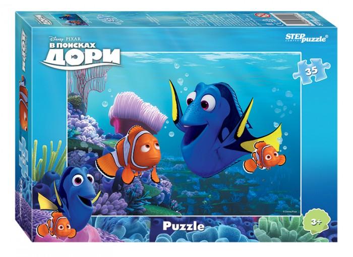 Пазлы Step Puzzle Пазл В поисках Дори 35 элементов пазл 3d 60 элементов step puzzle disney винни пух 98108