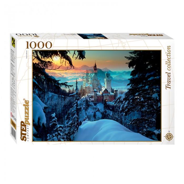 Пазлы Step Puzzle Пазл Бавария Замок Нойшванштайн 1000 элементов puzzle 1000 замок simon mardsen 29563