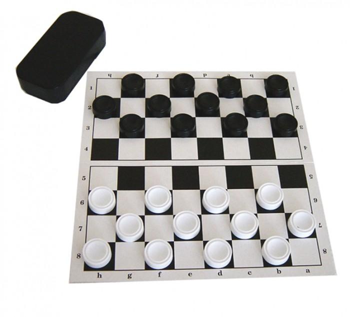 Настольные игры Совтехстром Шашки с доской (европодвес) настольные игры русский стиль шашки 02020