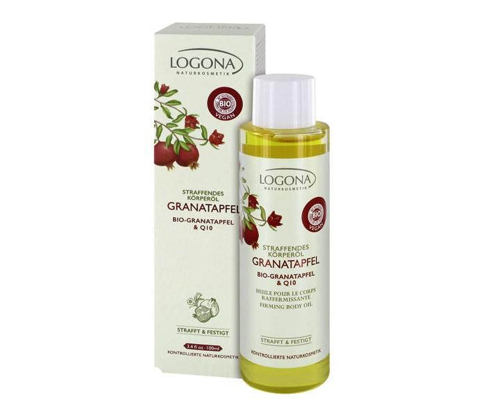 Logona Разглаживающее масло для тела с Био-Гранатом и Q10 100 мл
