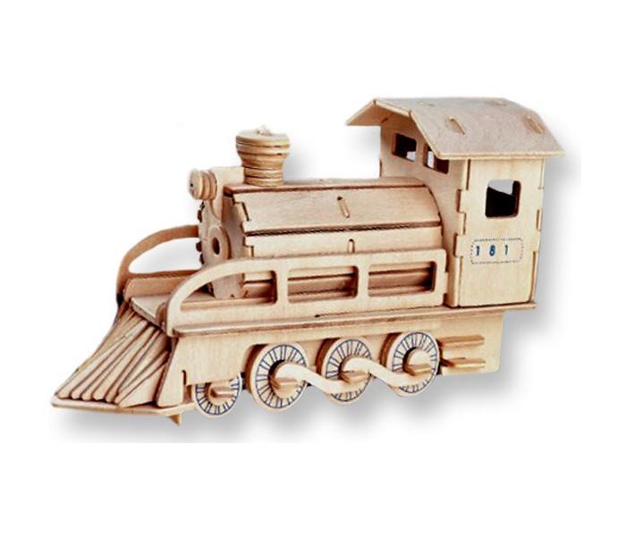 Конструкторы Мир деревянных игрушек (МДИ) Локомотив конструкторы свсд локомотив с зайцами