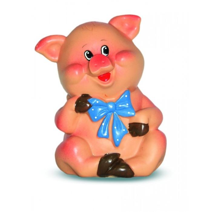 Весна Игрушка Поросенок с бантиком ПВХ курносики игрушка зверушка