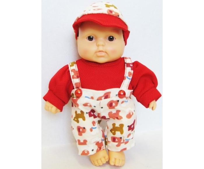 Куклы и одежда для кукол Весна Кукла Карапуз 8 мальчик 20 см кукла весна карапуз в халате в ванночке мальчик 20 см